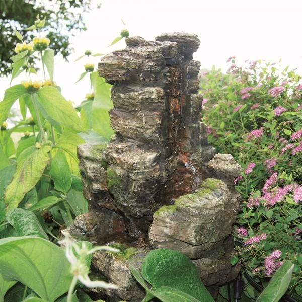 Wasserfall Chios Felsstruktur