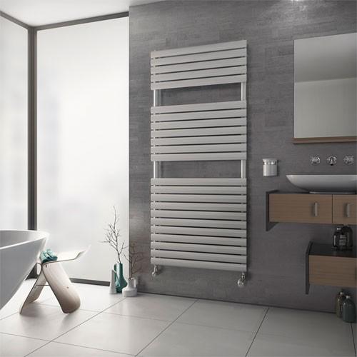 Badheizkörper Nestor - weiß - Paneelheizkörper - modern