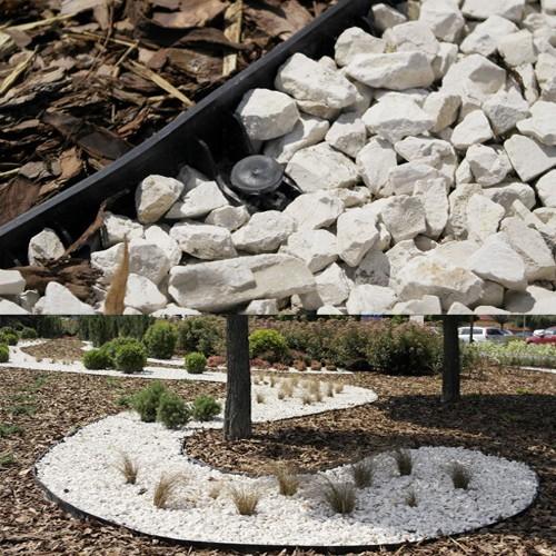Beeteinfassung Rasenkanten Kunststoff 4,5 cm Höhe 1,0 Meter