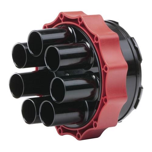 Systemdeckel Kabelabdichtung mit Warmschrumpftechnik HSI 90-D