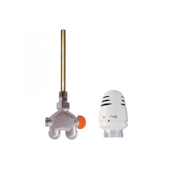 Ximax 4-Wege-Thermostatventil für Zweirohrsysteme Durchgang