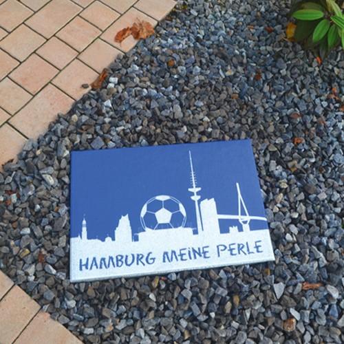 Terrassenplatte 60x40x4 cm Hamburg Fußball