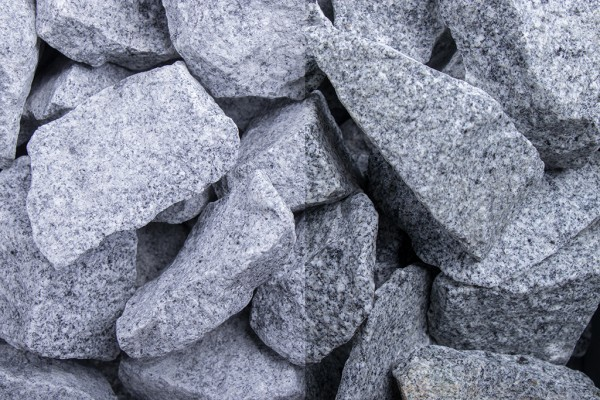 Granit Grau 32-56 mm Steinschlag