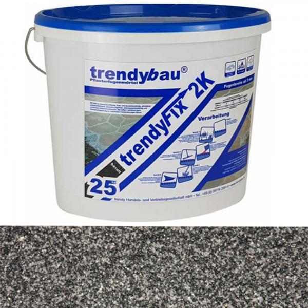 Pflasterfugenmörtel 2K basalt trendyfix 25 kg PKW