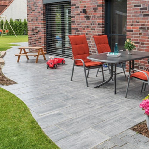 terrassenplatte 60x40x4 cm holzoptik quarz grau wei ab 18. Black Bedroom Furniture Sets. Home Design Ideas