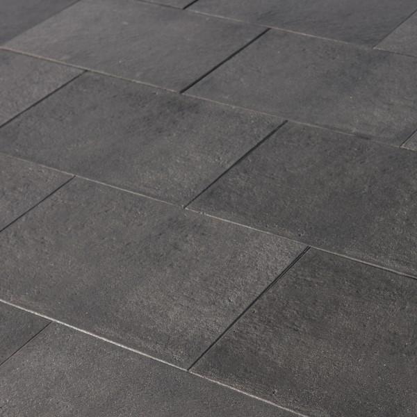 Terrassenplatte Ancona basalt 40x40x4 cm