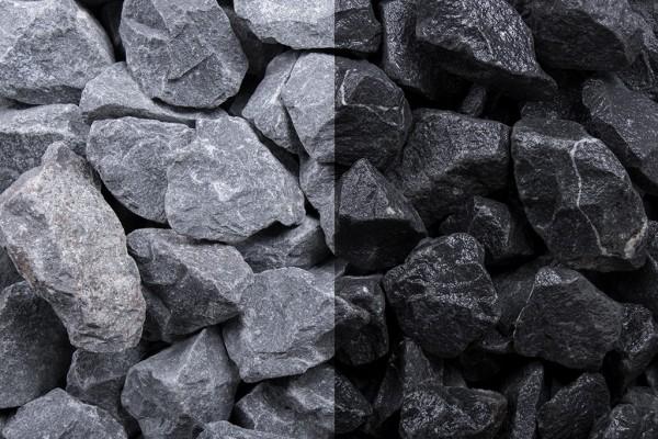 Basalt Splitt 16-32 mm anthrazit grau schwarz