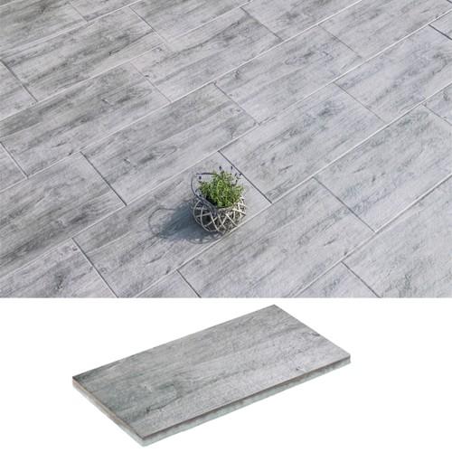 Terrassenplatte Natrua Fino 80x40x4 cm mittelgrau
