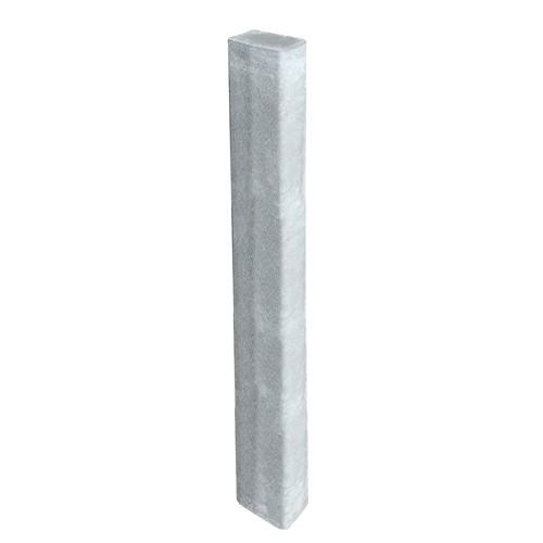 Rechteckpalisade grau 200 x 16,5 x 12 cm