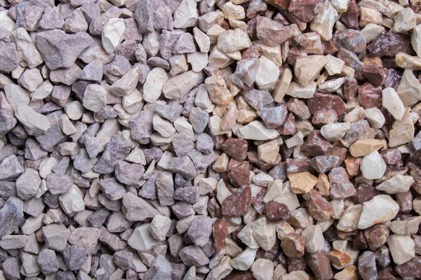 Colorado Splitt 8 -12 mm trockener und nasser Zustand