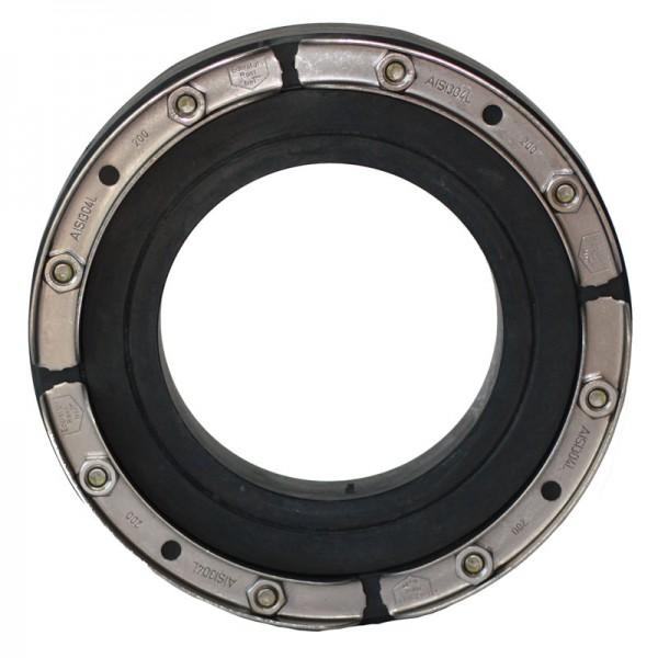 Standard-Ringraumdichtung HSD 200 - SSG - 110-160 - V2A / EPDM