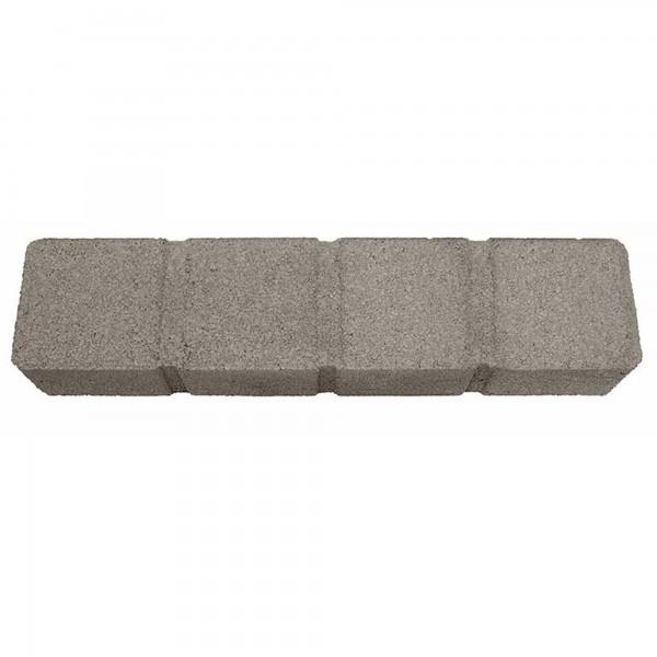 Quadrobord grau Palisadenbordstein
