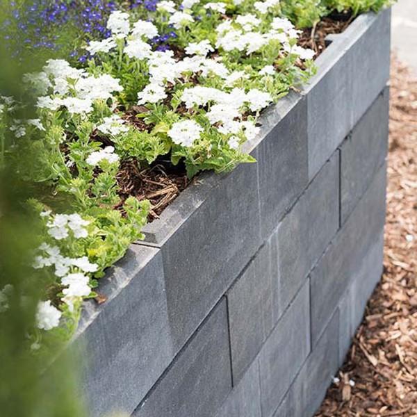 Mauerstein Lineo maxi 60x40x20 cm quarzit