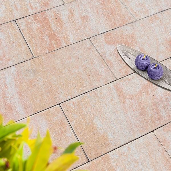 Terrassenplatte Via sandstein 60x40x4 cm