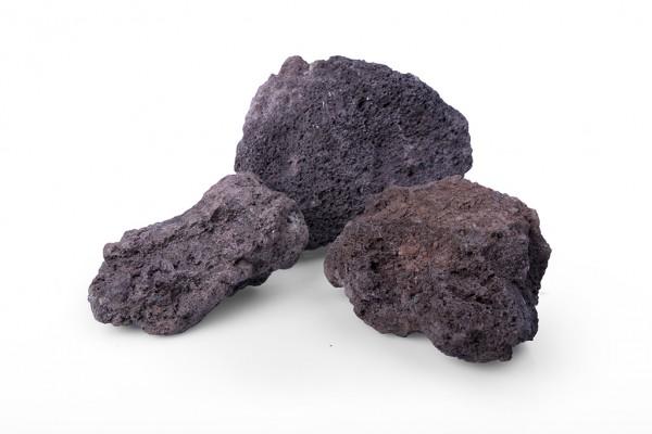 Lava original 60-120 mm rot braun Gabione