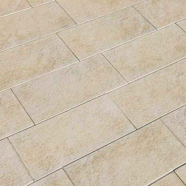 Terrassenplatte Asparo 80x40x4 cm sandstein Beispiel