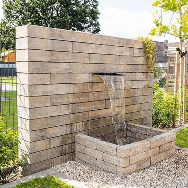 Mauerstein Lineo 60x25x12,5 cm muschelkalk
