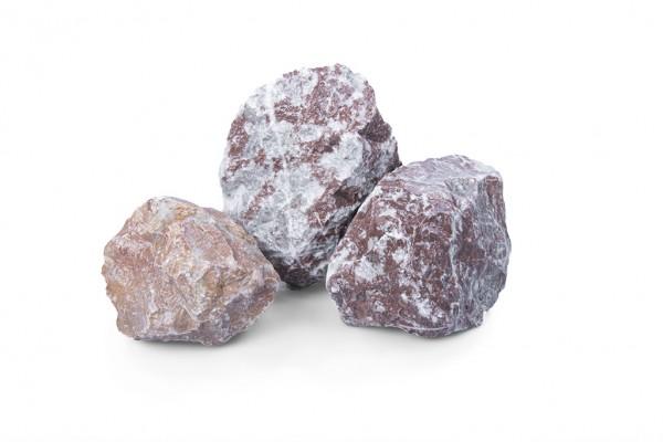 Classic Rocks 65-120 mm rot braun weiss Gabione