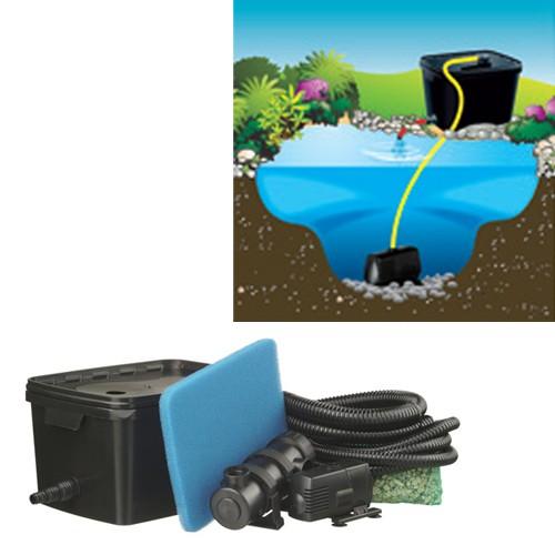 FiltraPure 2000 Einkammerfilter inkl UV-C Gerät Gartenteichfilter