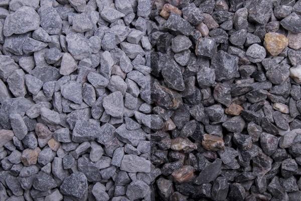 Vogesen Splitt 8-16 mm grau Kalkstein