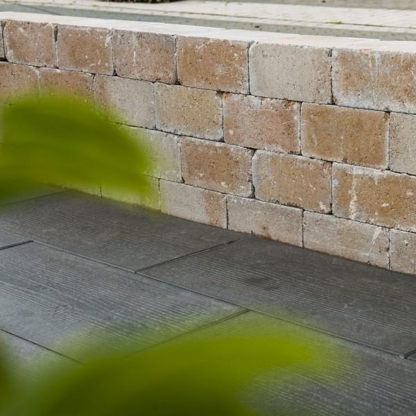 Mauerstein Antik sandstein