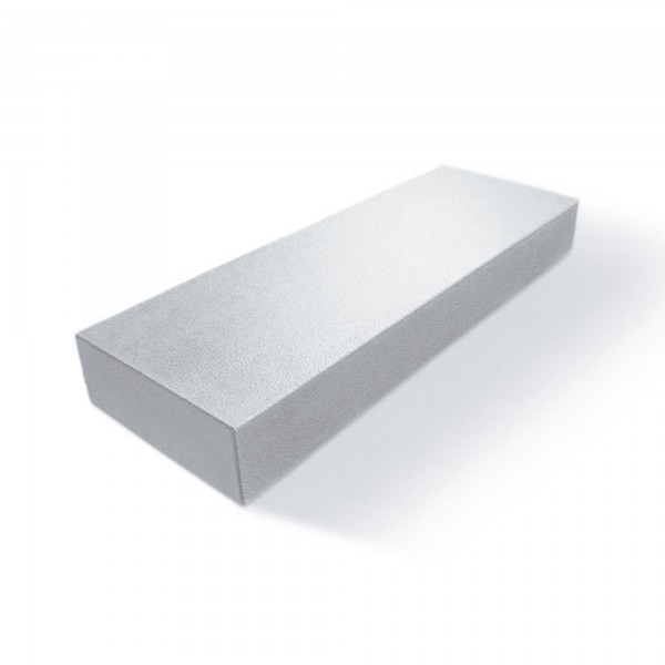 Blockstufe Edelia grau weiss 100x35x15 cm