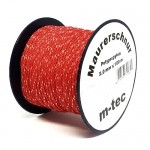 Pflasterschnur / Maurerschnur rot 100m 2,0mm
