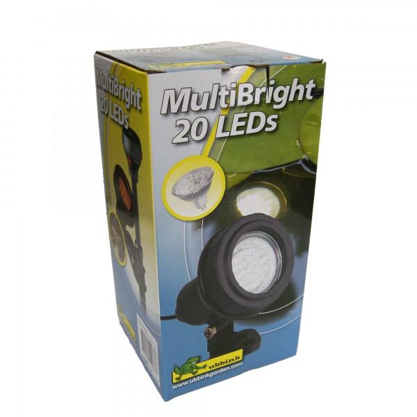 Unterwasserleuchte 20 LEDs für den Gartenteich
