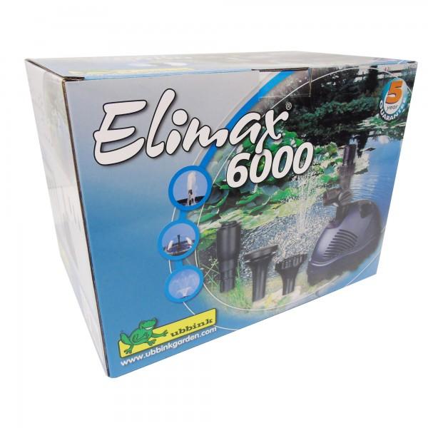 Springbrunnenpumpe 125 Watt Elimax 6000