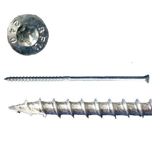 Holzbauschraube verzinkt Senkkopf TX 40 Antrieb Konstruktionsschraube