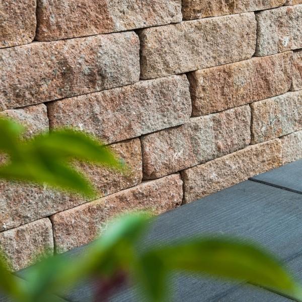 Mauerstein Lisco Medio 42x21x12,5 cm sandstein