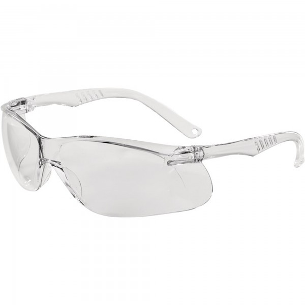 Schutzbrille Daylight One EN 166 Bügel klar, Scheibe klar Polycarbonat