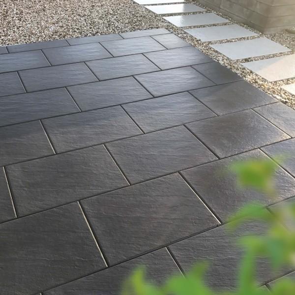 Terrassenplatte Scivo basalt 60x40x4