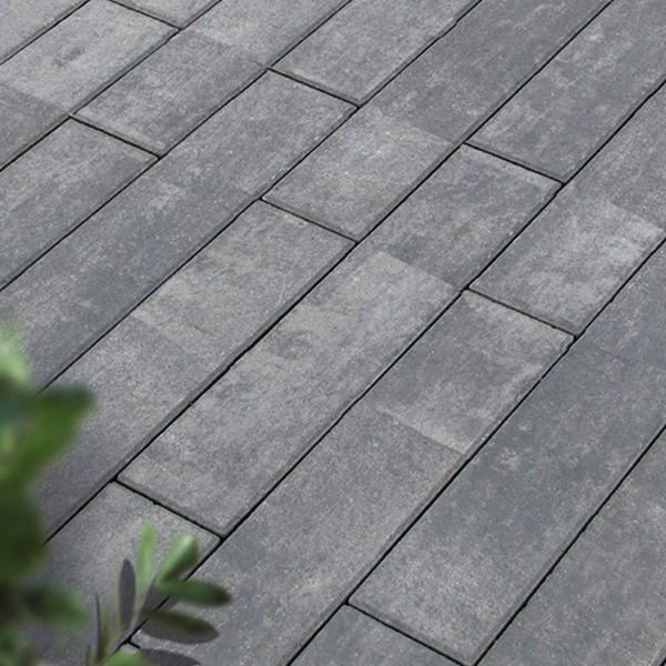 Terrassenplatte Madero 80x20x6 cm quarzit Beispiel