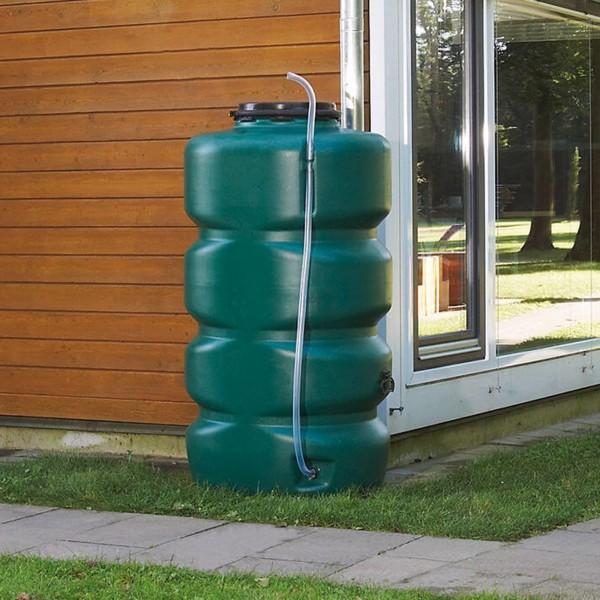 Regenwasserspeicher dunkelgrün 1000 L