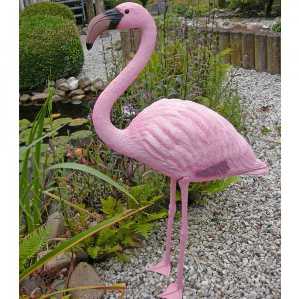 Flamingo 90 cm Teichfigur