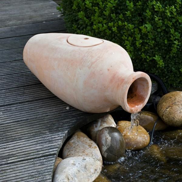 Amphora Filterset ca. 60x30x28 cm Terracotta