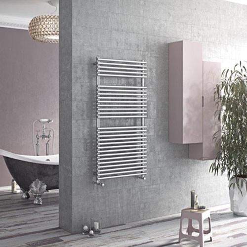 Badheizkörper Tec - edelstahl - Handtuchtrockner von Ximax 3 Größen