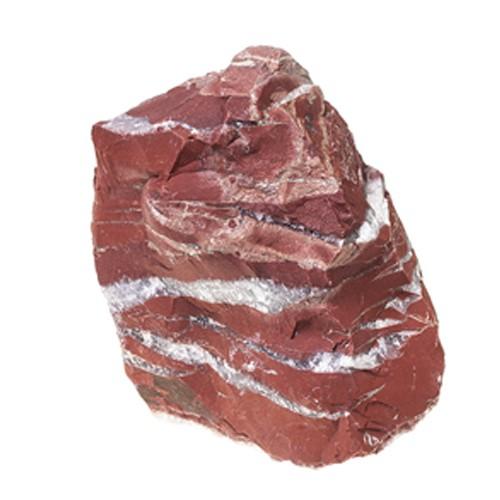 Red Jaspis Findling rot Steinmauer 250 kg