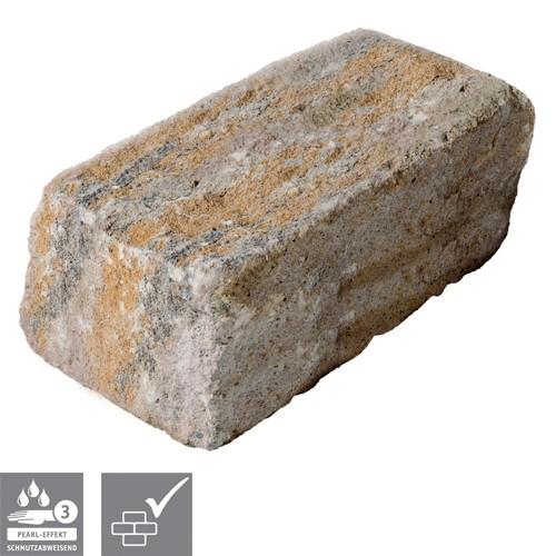 Trockenmauerstein Muschelkalk 35/16,5/15cm SIOLA®-MINI PE3