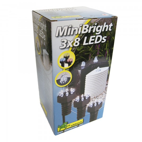 LED Licht für Wasserspiele rot, blau, gelb