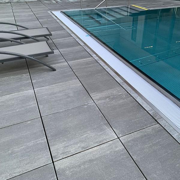 Terrassenplatte Diora quarzit 50x50x4 cm
