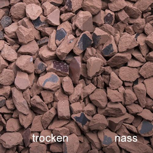 Ziegel Splitt 8-16 mm rot Ziegelstein