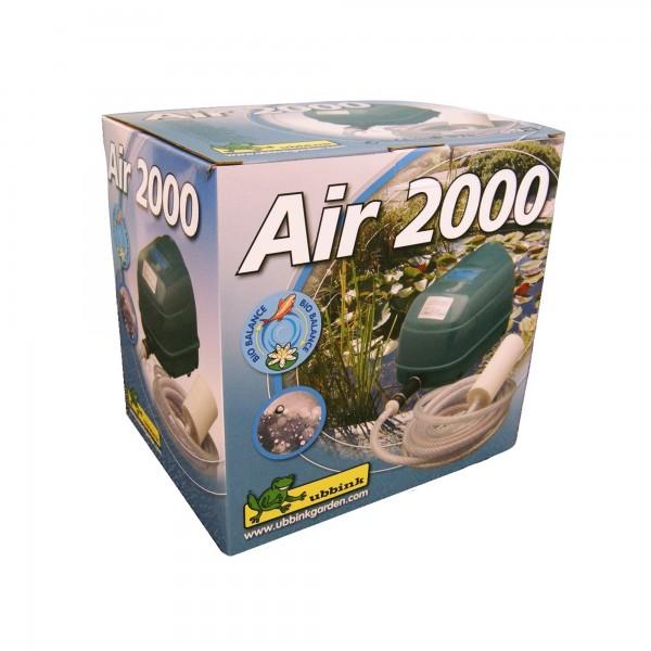 Sauerstoffpumpe Air 2000 für Gartenteich