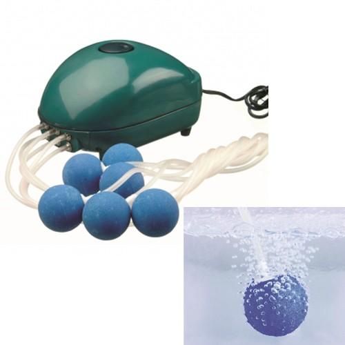 Belüftungspumpe Air 1000 für Gartenteich - Sauerstoffpumpe - Indoor