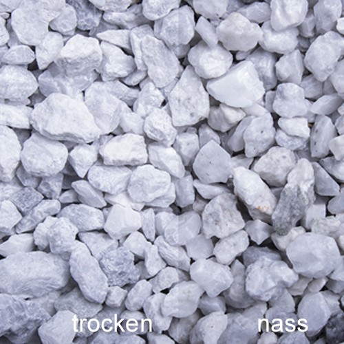 Nordisch Weiss Splitt 8-16 mm Calcit