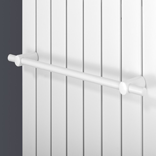 Handtuchhalter gerade - weiss - für Paneelheizkörper Ximax