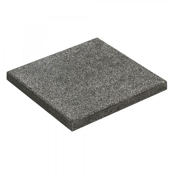 Terrassenplatte Rusto basalt 40x40x4 cm