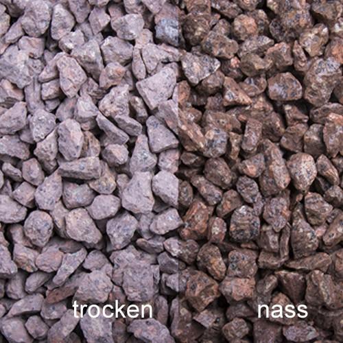 Terrasplitt 8-16 mm rot Porphyr