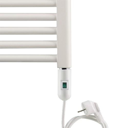 Heizstab Typ 2 - weiß - Elektroheizung mit eingebautem Thermoelement